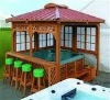 best selling outdoor spa gazebo from Gz Taisheng