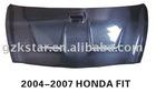 EDDY Carbon Fiber Engine Hood for Honda FIT 2004-2007 E type hood