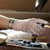 Lady's lace gloves for driving