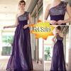 DORISQUEEN hot sale fashion elegant bridesmaid dress one shoulder