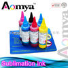 4/6color Bottle sublimation ink for epson BK (bulk ink)