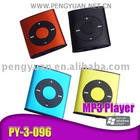 Mini MP3 player/colorful MP3 /card reader mp3 player(PY-3-096)