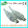 Hot selling ieee 1394 cable 4pin to 6pin cable