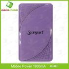 Universal Portable Mobile Power 5400mAh Battery