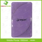 Universal Portable Mobile Power 5400mAh Battery