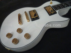 Best custom supreme electric guitar white color with ebony fingerboard KH-S-005