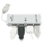 NEW MINI 4 PORT HIGH SPEED USB 2.0 HUB FOR PC LAPTOP