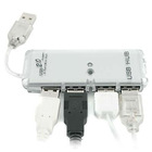 NEW MINI 4 PORT HIGH SPEED USB 2.0 HUB FOR PC LAPTOP