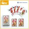 Christmas celebration playing cards