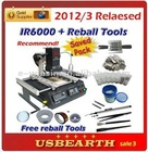 2012/3 Upgraded IR6000 Ly BGA Infrared BGA Rework Station + 13 in 1 bga reballing kit: stencils 295pcs