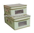 eco nonwoven storage box with lid
