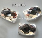 crystal glass facet beads