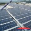 Flat roof solar panel bracket