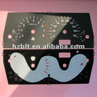 Screen Printed Meter Dial,Through Lit Dials,Polycarbonate (Lexan) Dial Plates