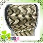 24rows fabric rhinestone mesh with pearl for dress decoration