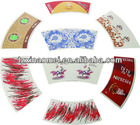 Diposable Cutted Paper Cup Fan In Different Size(FMH-067)