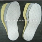 Nonwoven bamboo shoe insole