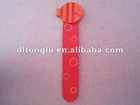 Red fish top wood bookmark with customized packings