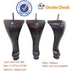hot-sale cheap wood queen anne furniture feet(EFS-YCY-083)