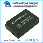 New replacement LP-E12 camera battery for CANON EOS M