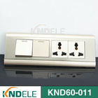 US style design electrical wall switch with multifunction socket
