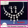 hot sale murano glass necklace and earring set