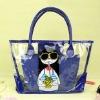 fashional ladies' pvc bag