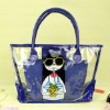 fashional ladies' pvc bag