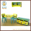 Licensed products wooden children furniture (Sponge Bob)