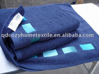 100% Cotton Yarn dyed Embroideried Bath towel