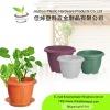 Round Plastic flowerpot
