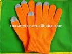 Tactile gloves for iPone, Tablet PC, ATM devices with variety colors and models
