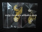 muslim chain hijab pins fashion brooches scarf pins BZ058