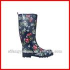 Lady fashionable and hotsale women rubber rain boot