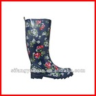 Lady fashionable and hotsale women rubber rain boot