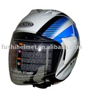 DOT open face ABS motorcycle helmet 808