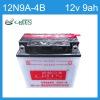 12N Series Conventional Motorcycle Battery 12V9AH (12N9A-4B)
