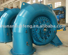 Francis water turbine generator unit