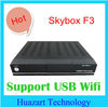 Suppor YouTube+USB Wifi Original Digital Satellite Receiver Ali3601 solution Skybox F3
