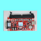 vehicle LED control card support U disk function