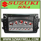 2din Car MP3 player with GPS for SUZUKI SX4 AND FIAT 16 SEDICI