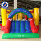 2013 Best selling small inflatable jumping bouncer with slide