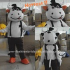 New Arrival 2012 Popular Cow Mascot Costume