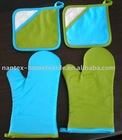 Potholder and Oven mitten