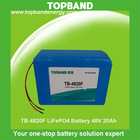 New electric vehicle battery 48v 20ah factory direct sale