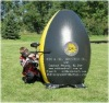2012 hot sale inflatable paintball bunker/inflatable paintball shooting games