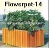 flower pot stand wood Flowerpot-14