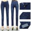 New! OEM print knit leggings skinny pants for women