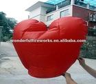 Red Heart Shape Flying Sky Paper Lantern crafts