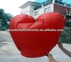 Red Heart Shape Flying Sky Paper Lantern crafts